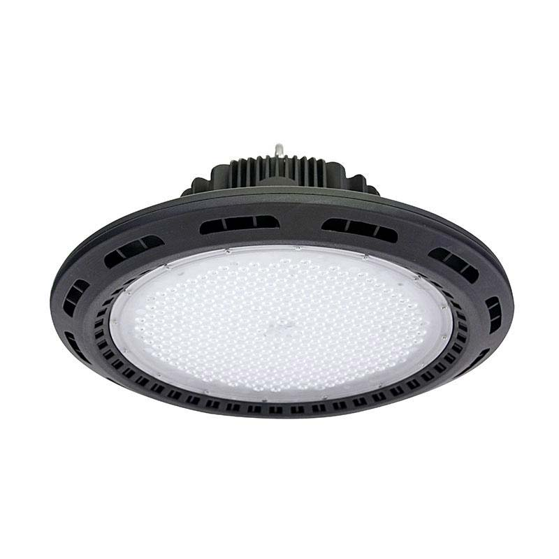 Campana industrial UFO 120W CREE led + MeanWell driver 1-10V regulable, Blanco frío, Regulable